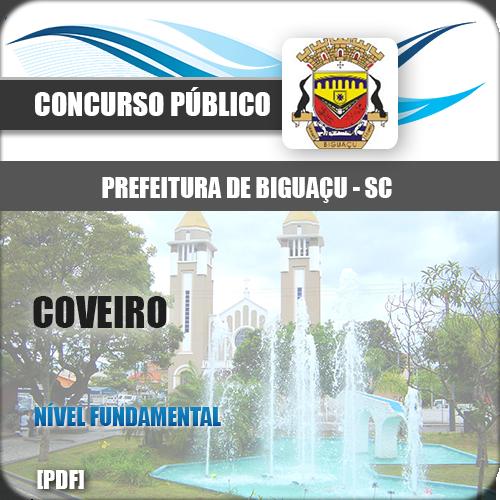 Apostila Biguaçu SC 2018 Coveiro