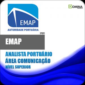 Apostila EMAP 2018 Analista Portuário Área Comunicação