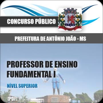 Apostila Antônio João MS 2018 Prof Ensino Fund I