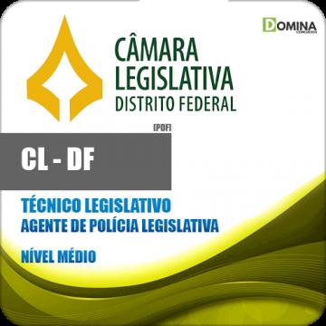 Apostila CL DF 2018 Agente de Polícia Legislativa