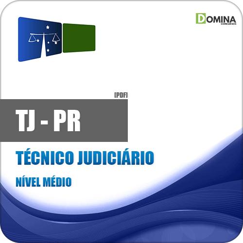 Apostila Concurso TJ PR 2018 Técnico Judiciário