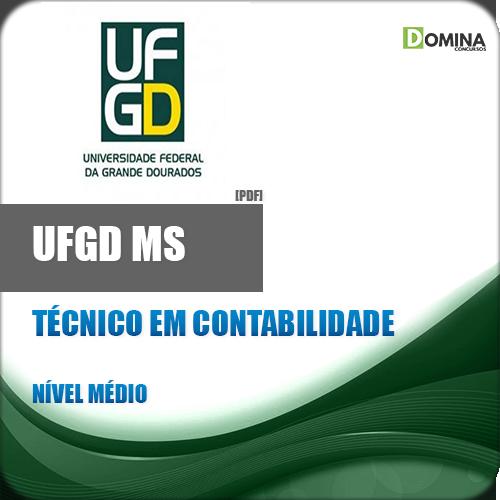 Apostila UFGD MS 2018 Técnico em Contabilidade