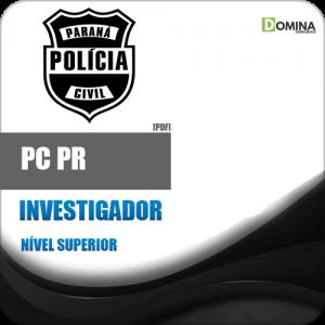 Apostila Polícia Civil Paraná PC PR 2018 Investigador
