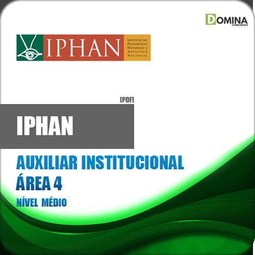 Apostila IPHAN 2018 Auxiliar Institucional Área 4