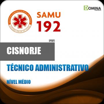 Apostila CISNORJE 2018 Técnico Administrativo