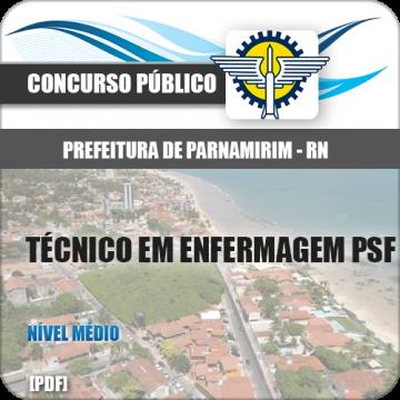 Apostila Parnamirim RN 2018 Técnico Enfermagem PSF