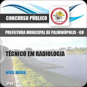 Apostila Palminópolis GO 2018 Técnico em Radiologia