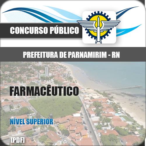 Apostila Parnamirim RN 2018 Farmacêutico