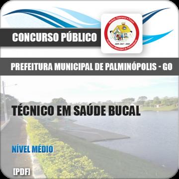 Apostila Palminópolis GO 2018 Técnico Saúde Bucal