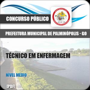 Apostila Palminópolis GO 2018 Técnico em Enfermagem