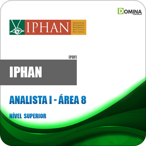 Apostila IPHAN 2018 Analista I Área 8