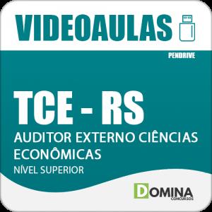 Curso Videoaulas TCE RS 2018 Auditor Externo Ciências Econômicas