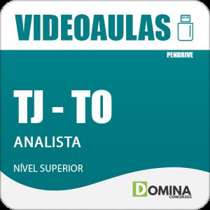 Curso Videoaulas Concurso TJ TO 2018 Analista