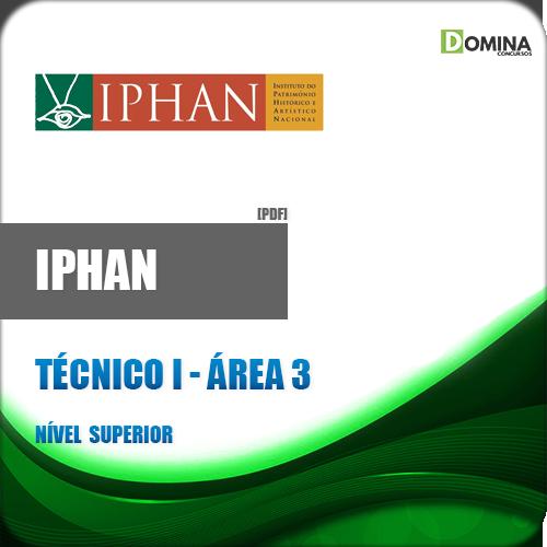 Apostila IPHAN 2018 Técnico I Área 3