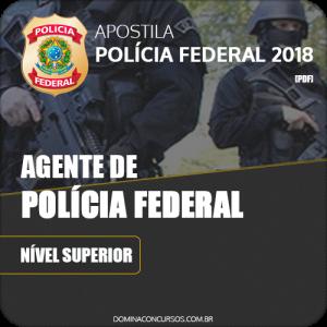 Apostila Polícia Federal PF 2018 Agente de Polícia Federal