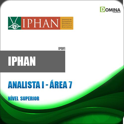 Apostila IPHAN 2018 Analista I Área 7