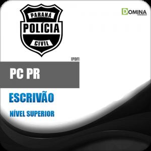 Apostila Polícia Civil Paraná PC PR 2018 Escrivão