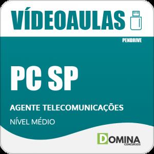 Curso Videoaulas PCSP 2018 Agente Telecomunicações Vídeo