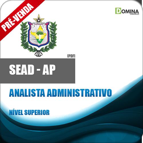Apostila SEAD AP 2018 Analista Administrativo