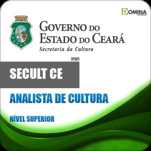 Apostila SECULT CE 2018 Analista de Cultura