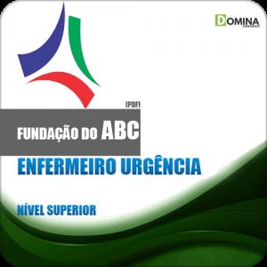 Apostila Fundação ABC SP 2018 Enfermeiro Urgência