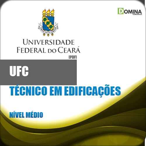 Apostila UFC CE 2018 Técnico em Edificações