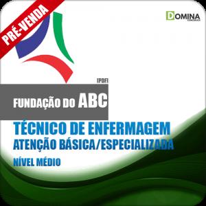 Apostila Fundação ABC SP 2018 Tec Enfermagem Básica Esp