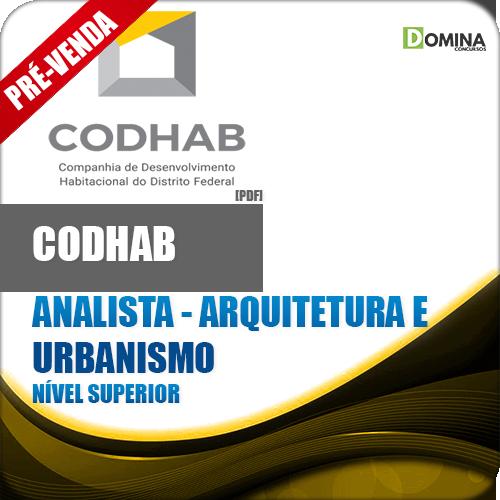 Apostila CODHAB DF 2018 Analista Arquitetura e Urbanismo