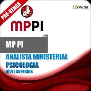 Apostila MP PI 2018 Analista Ministerial Psicologia