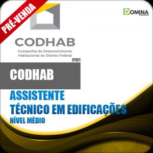 Apostila CODHAB DF 2018 Ass Técnico em Edificações