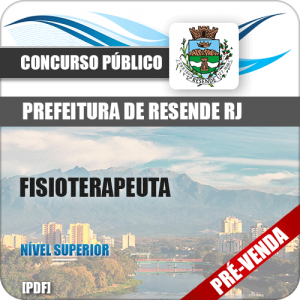 Apostila Pref Resende RJ 2018 Fisioterapeuta