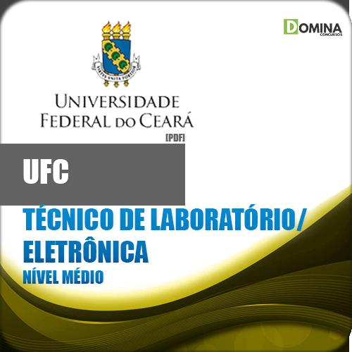 Apostila UFC CE 2018 Técnico Lab Eletrônica