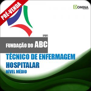 Apostila Fundação ABC SP 2018 Tec Enfermagem Hospitalar