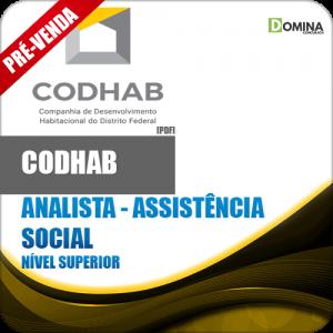 Apostila CODHAB DF 2018 Analista Assistência Social