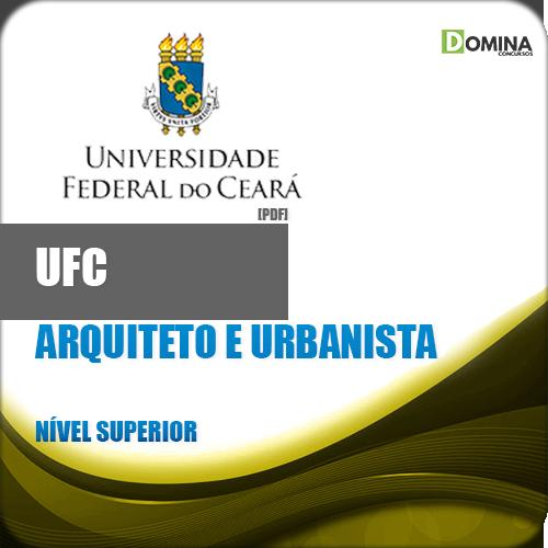 Apostila UFC CE 2018 Arquiteto e Urbanista