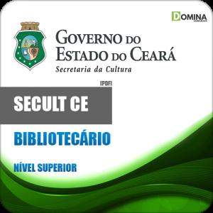 Apostila Concurso SECULT CE 2018 Bibliotecário
