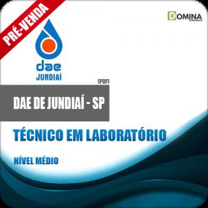 Apostila DAE Jundiaí SP 2018 Técnico em Laboratório