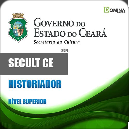 Apostila Concurso SECULT CE 2018 Historiador