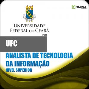 Apostila UFC CE 2018 Analista Tecnologia Informação