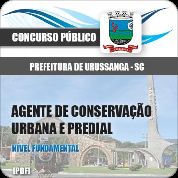 Apostila Urussanga SC 2018 Agt Conservação Urbana e Predial