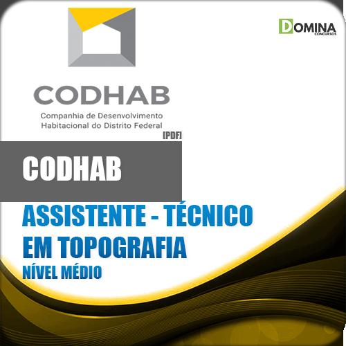 Apostila CODHAB DF 2018 Ass Técnico em Topografia