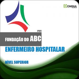 Apostila Fundação ABC SP 2018 Enfermeiro Hospitalar