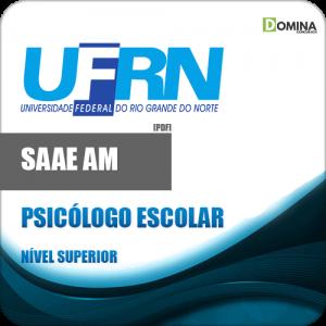 Apostila Concurso UFRN 2018 Psicólogo Escolar