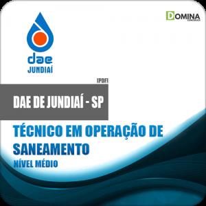 Apostila DAE Jundiaí SP 2018 Tec Operação Saneamento