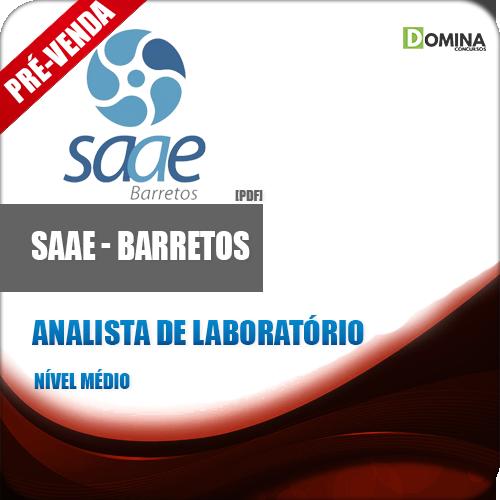 Apostila SAAE Barretos SP 2018 Analista de Laboratório
