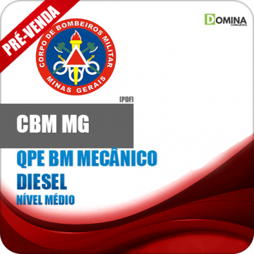 Apostila Concurso CBM MG 2018 QPE BM Mecânico Diesel