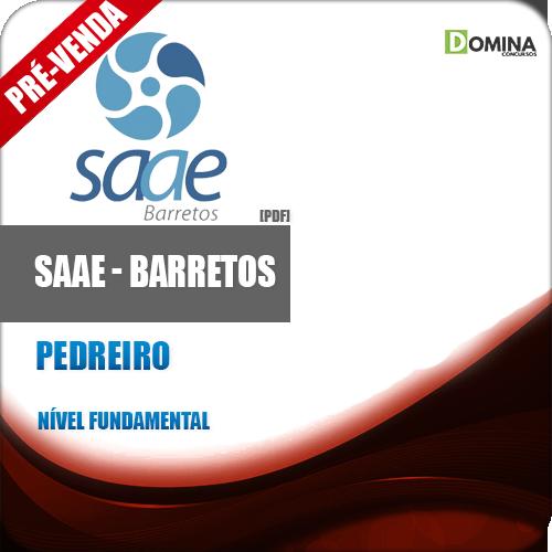Apostila SAAE Barretos SP 2018 Pedreiro