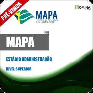 Apostila MAPA 2018 Estágio Administração