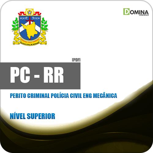 Apostila PC RR 2018 Perito Criminal Polícia Civil Eng Mecânica