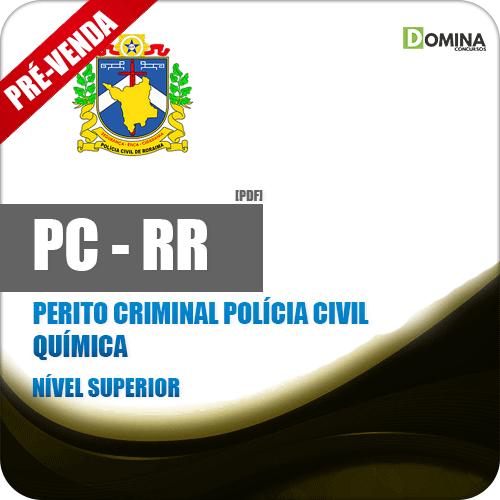 Apostila PC RR 2018 Perito Criminal Polícia Civil Química